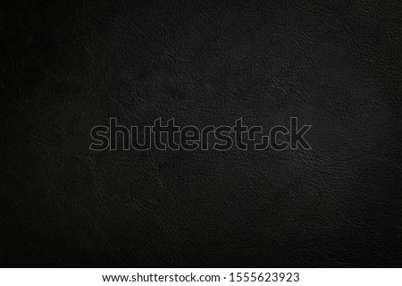 Black leather texture background, Luxury Black Background For Text.  Foto stock ©