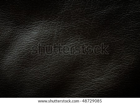 Black leather texture horizontal orientation