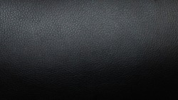 Black leather upholstery texture background
