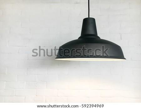 black lighting fixture with...
