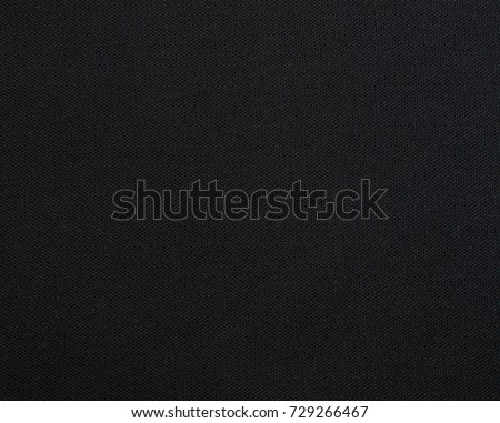 black  linen canvas. The background image, texture - Shutterstock ID 729266467