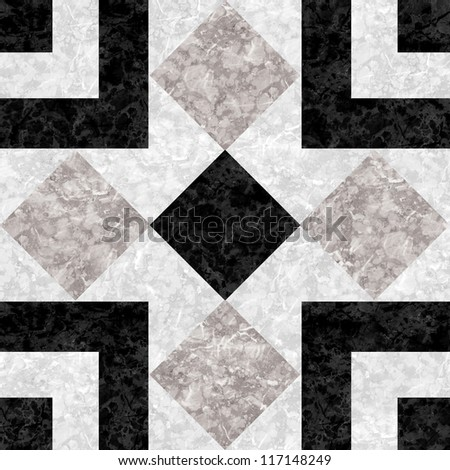 Black Marble Mosaic texture. (High.Res.)