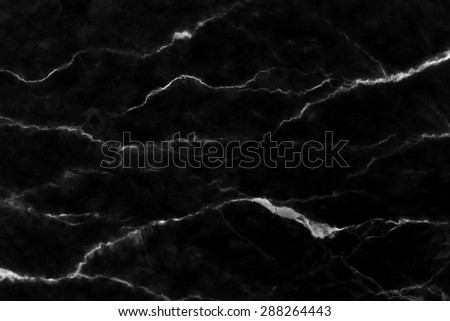 Black marble patterned (natural patterns) texture background, Marbles of Thailand, abstract natural marble black and white for design.