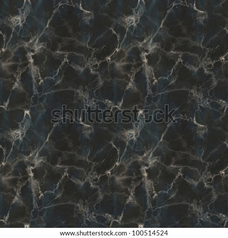 Black Marble Seamless Pattern Illustration