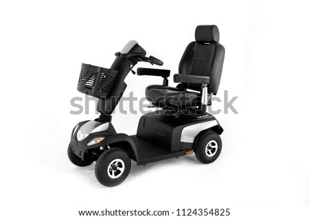 black mobility wheelchair