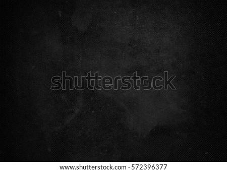 Black monochrome school textured background. School board background chalk texture vignette #572396377
