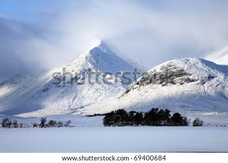 Black Mount on Rannoch Moor.