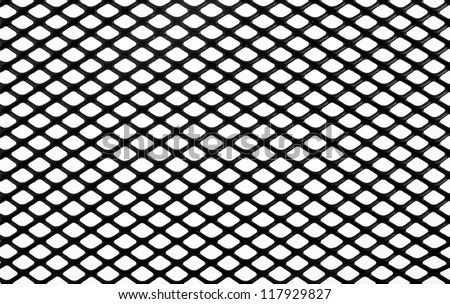 black net on a white background 117929827