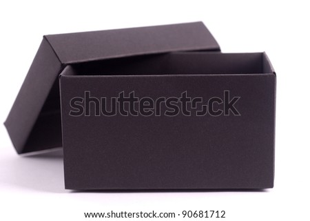 Black open box