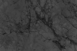 Black or Grey marble stone background. Dark Grey marble,quartz texture backdrop. Wall and panel marble natural pattern for architecture and interior design or abstract background.