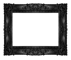 Black ornate frame, similar available in my portfolio