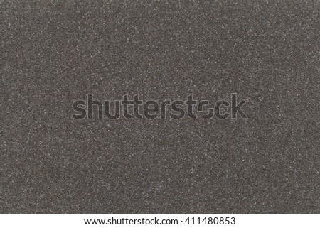 Black Packaging Foam Texture Background With Copy Space. #411480853