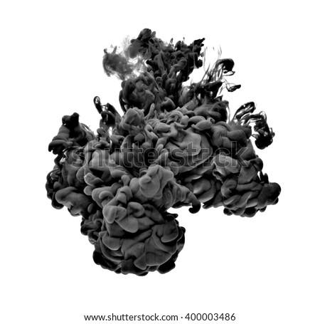black paint in water #400003486