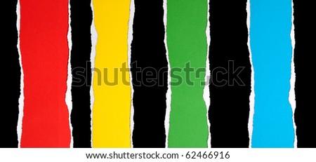 Black paper borders