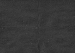 Black paper. Crumpled paper