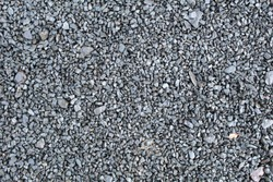black  pebble path