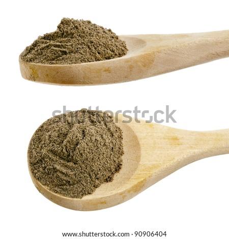 how to make white pepper powder