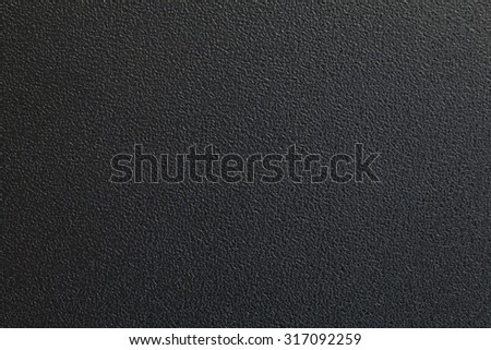Black plastic material seamless background and texture stock photo