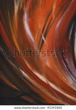 Black,red and withe abstract background acrylic painted.