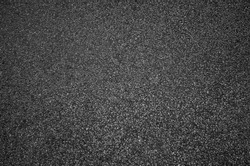 Black road background or texture, Black asphalt texture