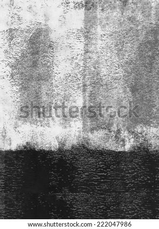 Black rolled paint background