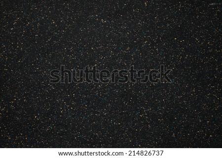 black rubber floor pattern
