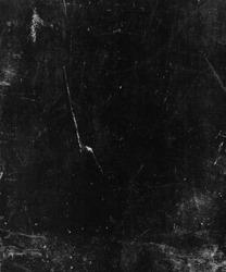 Black scratched grunge texture background