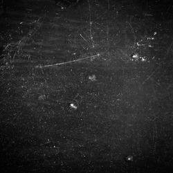 Black Scratchy Film Texture