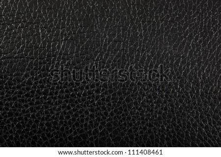 Black shiny leather texture.  Can be used as background.