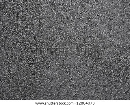 Black shiny new asphalt abstract texture background.