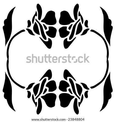 flowers clip art pictures. Silhouette of Flowers,