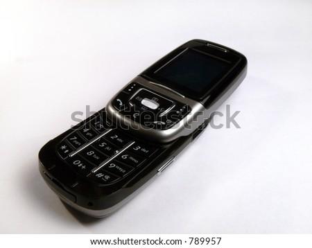 Black Slider Cell Phone 1