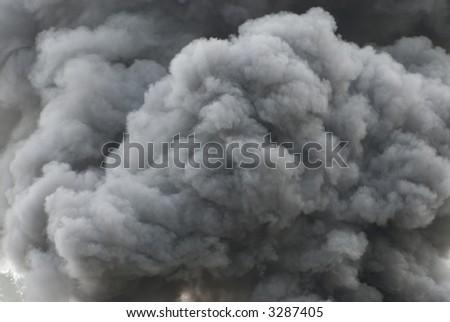 Black smoke cloud series - 11