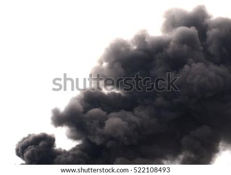 Black smoke cloud series - 04