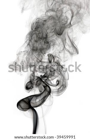 Black smoke wave