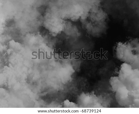 Black smoky background
