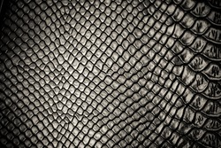Black snake skin pattern texture background