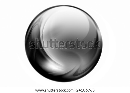 black sphere