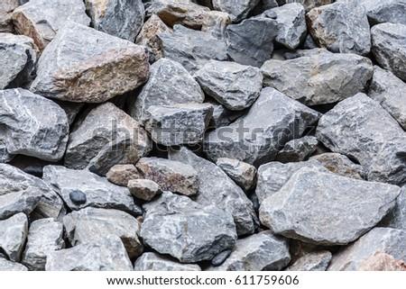 Black Stone Floor Texture Background