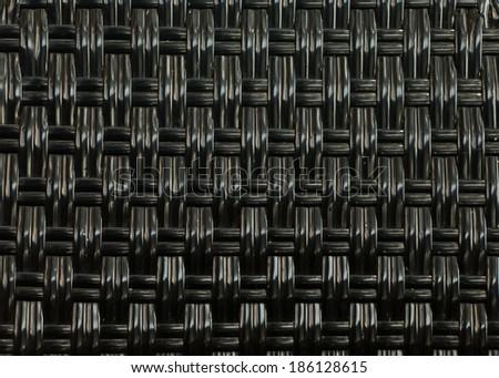 Black straw weaving #186128615