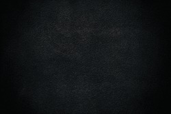 Black Stucco Wall Texture Background.