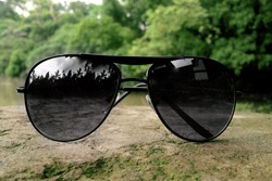 Black sunglass  for man for lifestyle