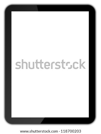 Black tablet