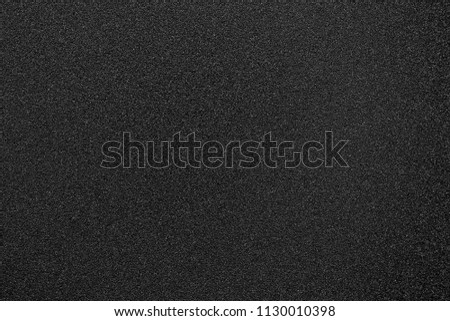 black texture and background and black sand paper texture  #1130010398