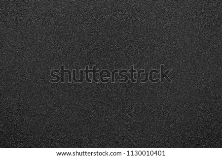 black texture and background and black sand paper texture  #1130010401