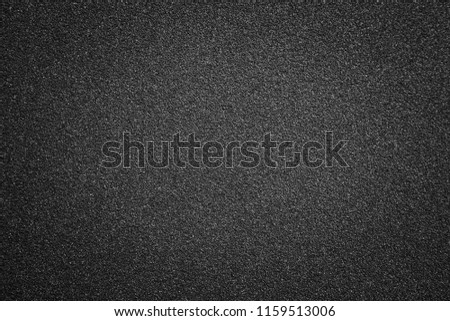black texture and background and black sand paper texture  #1159513006