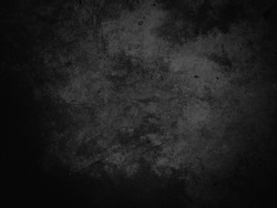 Black texture background, dark concrete texture background, black background