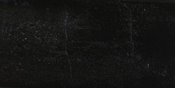 Black texture background with white dust and dirt scratches stain pattern on grunge dark dirty background for any design