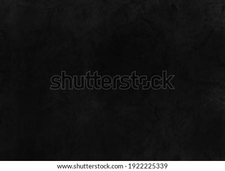 Black texture illustration. Black industrial background. Trendy black background. Modern black wall. Stone