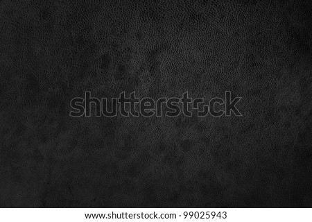 black texture leather